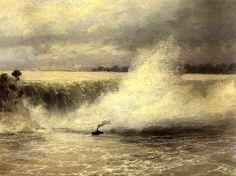 The Niagara Waterfall: 1899  Ivan Aivazovsky