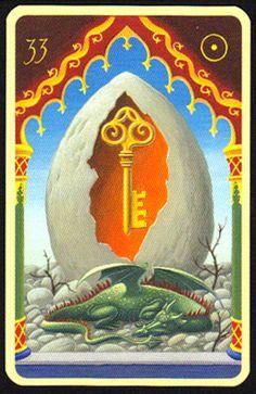 Significado Carta Tarot LENORMAND - La llave