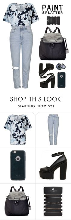 """Untitled #78"" by deandelaina on Polyvore featuring Kin by John Lewis, Topshop, Moshi, Frye and DK"