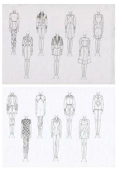 Fashion Sketchbook - fashion design drawings, fashion sketching // Julius Arthur