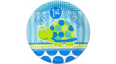 Purchase the First Birthday Turtle Cake Plates for your Turtle party. Find huge selections & prices on all birthday decorations & supplies at Birthday in a Box. Baby Boy First Birthday, First Birthday Parties, Birthday Party Decorations, Birthday Ideas, 2nd Birthday, Turtle Birthday, Turtle Party, Discount Party Supplies, Happy 1st Birthdays