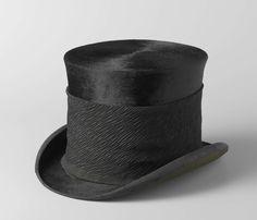 Hoge hoed van S.J.P. Kruger, Box en Co Ltd Cooper, c. 1850 - c. 1904  I am crazy over textiles.
