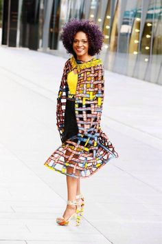 African Print Prom Dress 3 in 1 dress detachable skirt African Fashion Designers, African Fashion Ankara, African Print Fashion, Liberty Fashion, African Print Pants, Short Dresses, Prom Dresses, Kente Styles, African Dresses For Women
