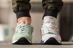 "Polls: Concepts x New Balance 998 ""C-Note"" or ""Mint"""