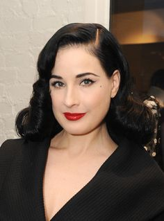 Dita Von Teese - Christian Siriano Fall 2014 LA Preview & Cocktail Party