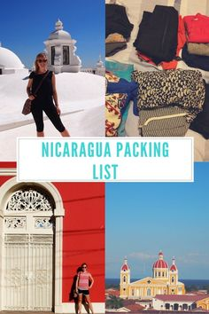 Nicaragua Packing List + Giveaway - Paper Crane Stories