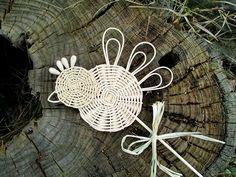 PTÁČEK - zápich / Zboží prodejce Jalis | Fler.cz Willow Weaving, Basket Weaving, Rattan, Projects To Try, Arts And Crafts, Knitting, Crochet, Bbg, Handmade