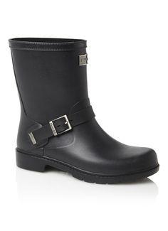 Hunter boots Shoreditch