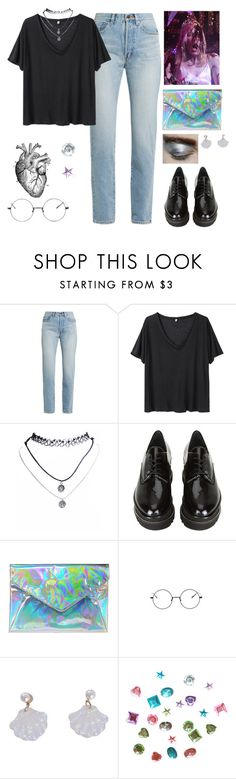"""there carrie goes"" by gb041112 ❤ liked on Polyvore featuring Yves Saint Laurent, R13, Wet Seal, Stuart Weitzman and Bimba & Lola"
