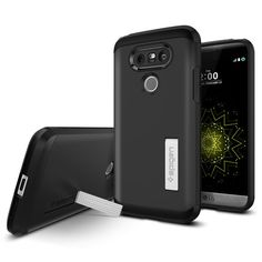 The Tough Armor™ case is one of Spigen's classics, and it's finally coming to the new LG G5. The specially engineered design provides you with our most reliable protection. A durable hard polycarbonate shell delivers excellent defense, while the interior web-patterned TPU absorbs impacts from collisions and drops. An added kickstand acts as extra versatility for your data streaming needs.  Shop Now: http://www.spigen.com/products/lg-g5-case-tough-armor?variant=16278596097