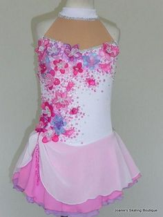 Joanie's Figure Skating Boutique of Newfoundland, Canada-Figure Skating Dresses, Custom Skating Dress, Skating Skirts, Skating Apparel Figure Skating Outfits, Figure Skating Costumes, Figure Skating Dresses, Baton Twirling Costumes, Girls Dance Costumes, Beautiful Figure, Beautiful Gorgeous, Beautiful Costumes, Dress Patterns
