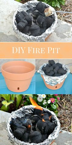 DIY Tabletop Terra Cotta Fire Pit - Western Garden Centers Somewhat Simple Creative Team DIY Feuerst