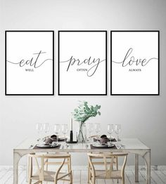 This Is Us,Our Life Our Story Our Home Printable,Living Room Wall Art,Home Decor… – Esszimmer Dinning Room Wall Decor, Dining Room Walls, Living Room Decor, Ceiling Decor, Eat Pray Love, Lounge Design, Digital Print, Christian Wall Art, Christian Decor