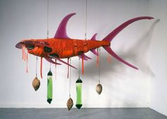 Ashley Bickerton, Orange - 500x360