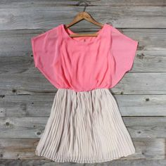 Wish Spell Dress in Peony...