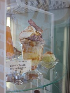 bacon sundae from sweet rose creamery
