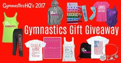 Gymnastics Gifts Giveaway Win the entry and win $150 worth of gymnastics needs!
