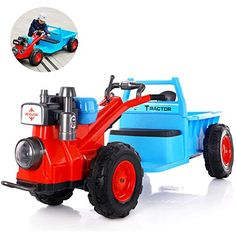 New Holland, Monster Trucks, Vehicles, Autos, Kids Rooms, Backhoe Loader, Four Kids, Four Wheelers, Remote