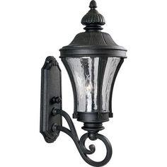 Progress Lighting Nottington Collection Gilded Iron 3-light Wall Lantern-P5838-71 - The Home Depot