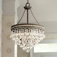 "Saint Mossi Crystal Multi-tier Chandelier Modern & Contemporary Ceiling Pendant Light H45"" X D18"" """