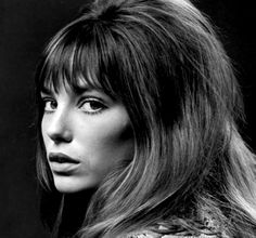 eb19da95205 Jane Birkin in the 60's French Girl Style, French Girls, French Makeup, Hair