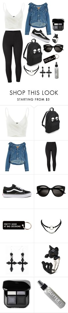 """""""Ideas"""" by hannahleighhh on Polyvore featuring Doublju, Balenciaga, Venus, Vans, Various Projects and plus size clothing"""