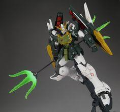 GUNDAM GUY: P-Bandai Exclusive: MG 1/100 Gundam Altron EW - Painted Build Endless Waltz, Gundam Toys, Gundam Wing, New Mobile, Gundam Model, Mobile Suit, The 100, Robots, Building