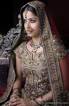 Gorgeous Indian Bridal fashion!