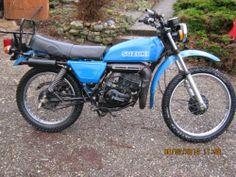 SUZUKI TS 125 1978 CLASSIC TWIN SHOCK PROJECT | eBay £795