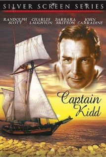 1945, Captain Kidd. The unhistorical adventures of pirate Captain Kidd revolve around treasure and treachery.