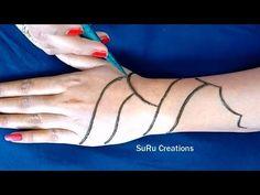 Simple Mehndi Design For Hand Stylish Mehndi Designs, Mehndi Designs 2018, Beginner Henna Designs, Simple Mehndi Designs, Mehandi Design For Hand, Heena Design, Mhndi Design, Mehandhi Designs, Mehndi Simple