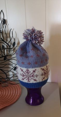Knitting hat str 7-8 years Knitted Hats, Beanie, Knitting, Fashion, Knit Hats, Moda, Tricot, Fashion Styles, Knit Caps