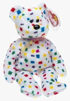 c76a1cff44f Ty 2K the Bear Beanie Baby Beanie Baby Bears
