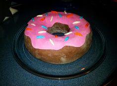 """Tarta de donuts """"rosquilla Homer"""""""