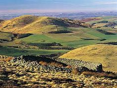 """The Cheviot Hills, Northumberland National Park"" - ancestor land"