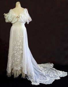 1908 Wedding Dress.