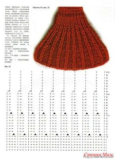 Diy Knitting Scarf, Sweater Knitting Patterns, Knitting Charts, Knitting Stitches, Knit Patterns, Baby Knitting, Stitch Patterns, Knitting Needles, Crochet Mask