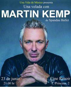 Martin Kemp (@realmartinkemp)   Twitter Martin Kemp, The Power Of Music, George Michael, Style And Grace, Pop Rocks, Feeling Happy, Writer, Handsome, Ballet