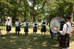 Bagpipe Band Nauvoo, Illinois 2013