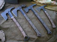 MBB Tomahawk, Axe and Hammer Designs Miller Bros. Blades Custom Handmade Swords, Knives & Tomahawks/Axes www.millerbrosblades.com