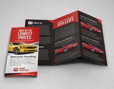 """Auf @Behance habe ich dieses Projekt gefunden: """"Creative Car Rental Trifold Brochure Template"""" https://www.behance.net/gallery/11799821/Creative-Car-Rental-Trifold-Brochure-Template"""