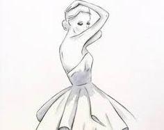 Resultado de imagem para charcoal drawing ballerina