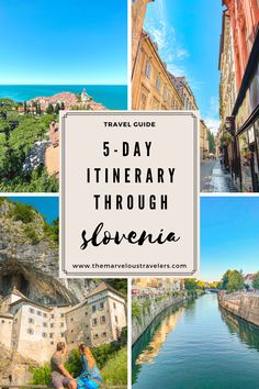 Always wanted to do a road trip through Slovenia? No? Well you should! From legendary cave castles to beautiful nature and cute mediterranean towns - Slovenia is a total surprise! Here's a 5-day itinerary for a road trip through Slovenia. #travelguide #slovenia #europeroadtrip #roadtripguide Road Trip Europe, Europe Travel Guide, Spain Travel, Budget Travel, Road Trips, Travel Guides, Travel Destinations, Slovenia Travel, Adventures Abroad