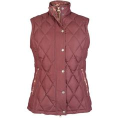 Barbour Tors Gilet , Bordeaux (£129) ❤ liked on Polyvore featuring outerwear, vests, bordeaux, sleeveless waistcoat, barbour, red sleeveless vest, barbour gilet and sleeveless vest