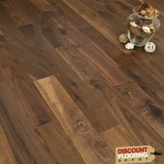 One of the best things about a Walnut floor is the colour variation - having a rustic grade, the planks will vary in shade, tone and knotting, so the lighting of a room isn't that important for this floor. Real Wood Floors, Solid Wood Flooring, Engineered Wood Floors, Hardwood Floors, Walnut Floors, New Homes, Rustic, Planks, Colour