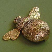 Solid Brass Country Bee Door Knocker cool £34