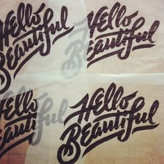 hello beautiful | erik marinovich