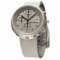 ISSEY MIYAKE イッセイ ミヤケ TRAPEZOID トラペゾイド 深澤直人 Naoto Fukasawa デザイン 腕時計 メンズ SILAZ005