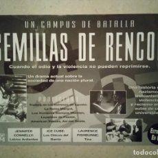 PUBLICIDAD ORIGINAL -A4- SEMILLAS DE RENCOR - ARCHIVO - JOHN SINGLETON