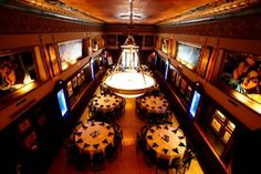 The Art Deco Thaxton building is an intimate location for your next elegant event.